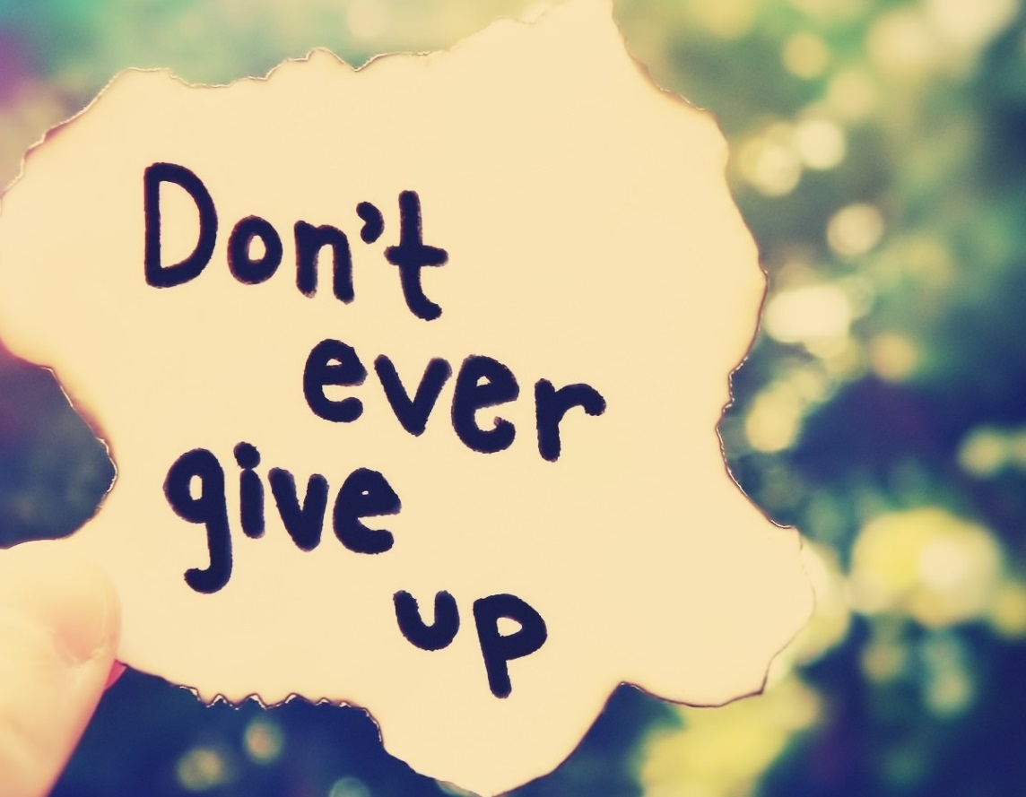 Donot Give Up